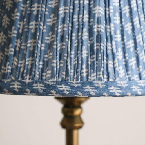 block print lampshades, luxury lighting, luxury lampshades, block print lampshade, shenouk