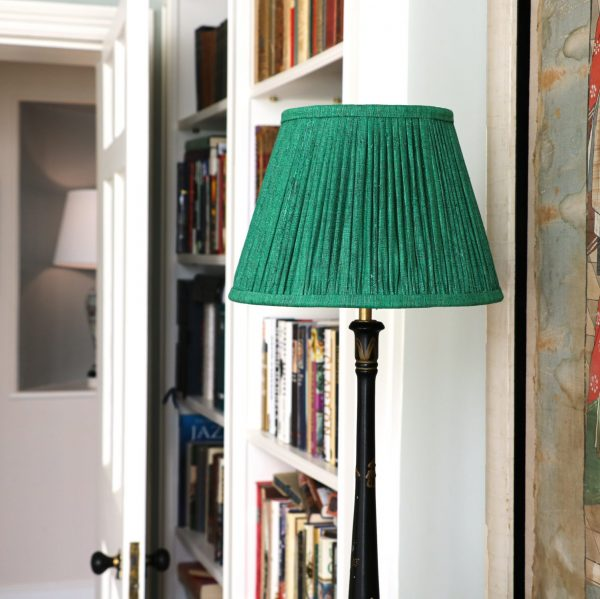 shenouk, lampshades, block print, Indian block print, luxury lampshades, premium lampshades, handmade lampshades, English block print, English country home, English decor, silk lampshade, linen lampshades