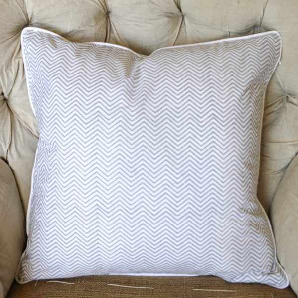 block print, shenouk, block print cushions, indian block print, English block print, cushion covers, chevron