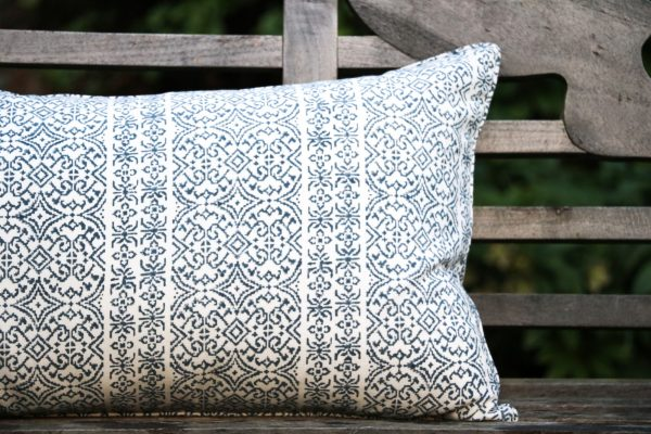 shenouk, long cushions, cushion, block print, Indian block print, English block print, online shopping block print