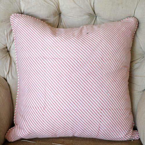 block print, block printed cushions, Indian block print, English block print, online shopping block print, pink cushions, striped cushions, shenouk