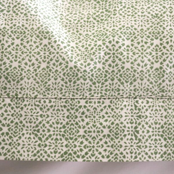 shenouk, block print, indian block print, English block print, online shopping block print, exclusive block print design, block print duvet covers, block print bedding, Kiki design, green duvets