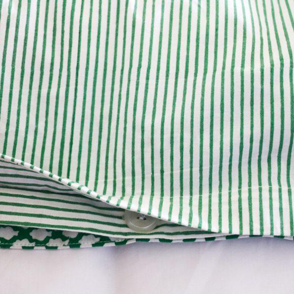 shenouk, block print, indian block print, English block print, online shopping block print, block print bedding, children's duvets, single duvets, Kelly green interiors