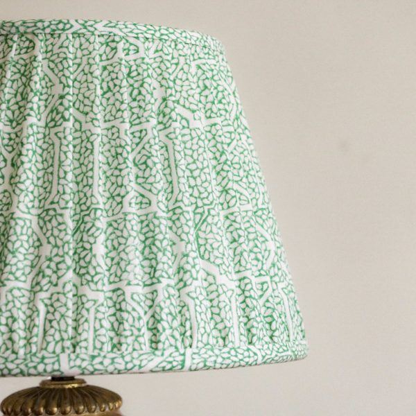 block print, shenouk, luxury lampshades, gathered lampshades, English interiors, English country home decor, pleated lampshades, shenouk, premium lampshades, online shopping block print, online shopping lampshades, Indian textiles, English block print, indian block print
